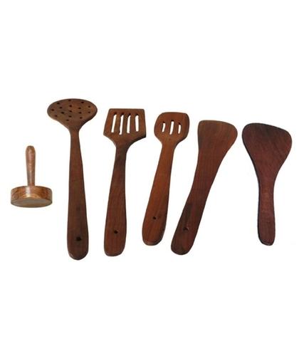 Desi Karigar Wood Tool Set Of 6