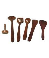 Desi Karigar Wood Tool Set Of 6