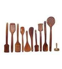 Desi Karigar Wooden kitchen essential tools set of 11