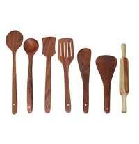Desi Karigar Wooden Cutlery set of 7