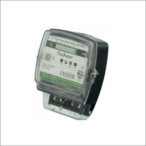 Single Phase Electronic Energy Meter with LCD