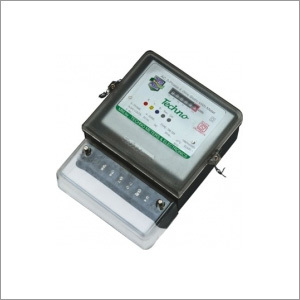 Three Phase Static Energy Meter with Counter Display