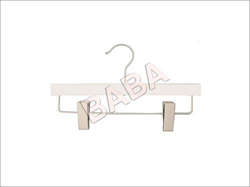 Wooden White Clip Hangers