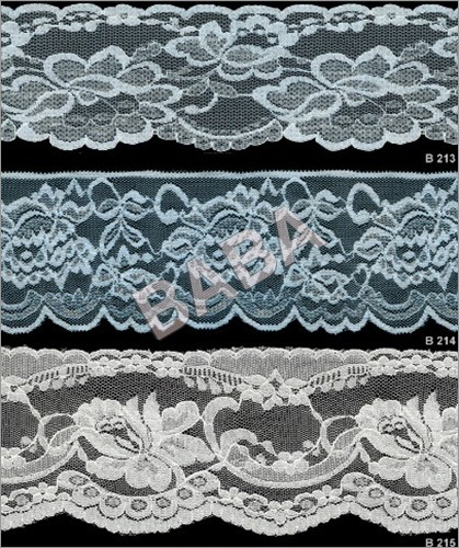Embroidered Fabrics Laces