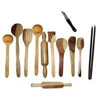 Desi Karigar Wooden kitchen tool set
