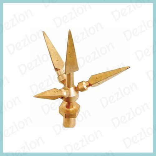 Multi Point Brass Earthing Rod