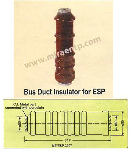 Insulator For ESP Bus Duct