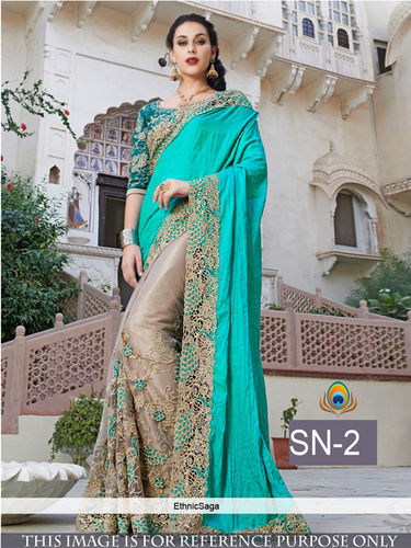 Party Wear Designer Fancy Replica Saree