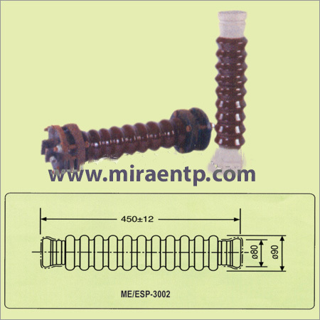 33KV Pin Insulator with G.I Pin