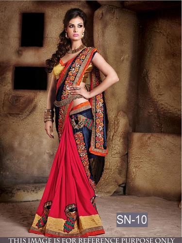 Fancy Bollywood Replica Designer Party Wear saree