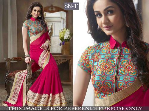 Latest Designer Bollywood Replica Saree