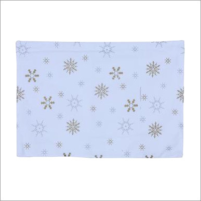 Table Mat- Gold Snowflake