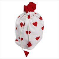 Red Heart Design Gift Bags