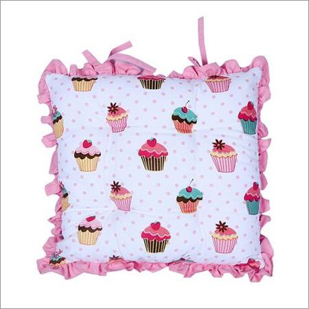 Frill Pink Cushion