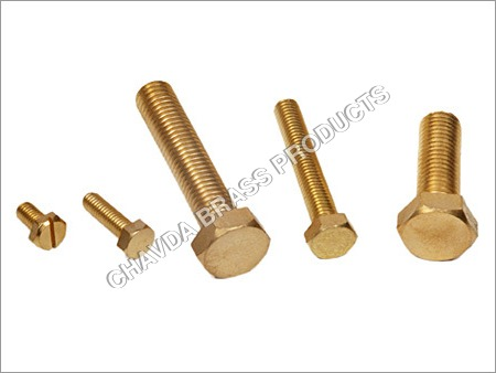 Brass Hexagonal Bolts