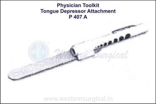 Physician Toolkit(Tongue Depressor Attachment)
