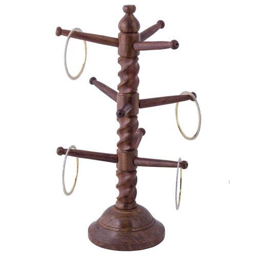 Desi Karigar  Beautiful Handcrafted Wooden Bangles Holder