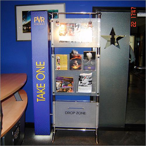 Leaflet Brochure Stand