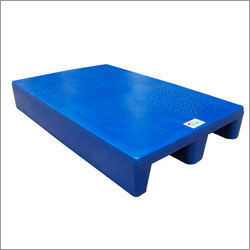 4 Way Entry Non Reversible Rackable Plastic Pallets