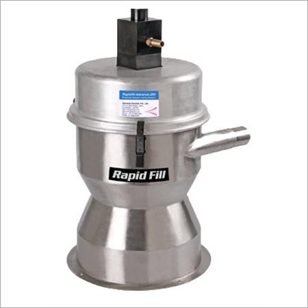 Air vacuum loader for granules