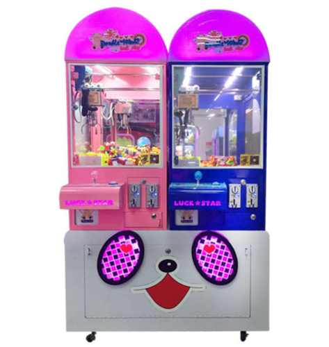 Double Players Toy Crane Game Machine