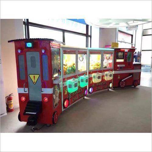 Train Toy Crane Game Machine
