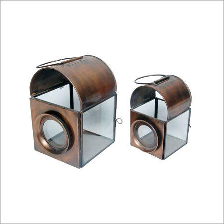 Copper Iron Lantern