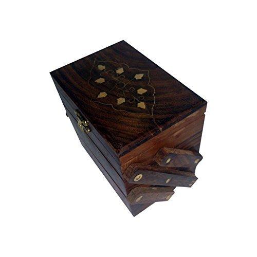 Desi Karigar 3 in 1 Jewellery Box