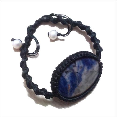 Lapis Lazuli Macrame Bracelets