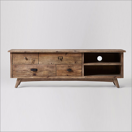 wooden Tv Cabinet & Drawers