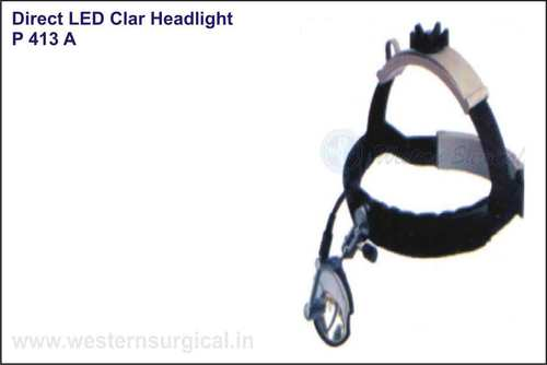 Direct LED Clear Headlight