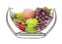 Steel Fruit Basket