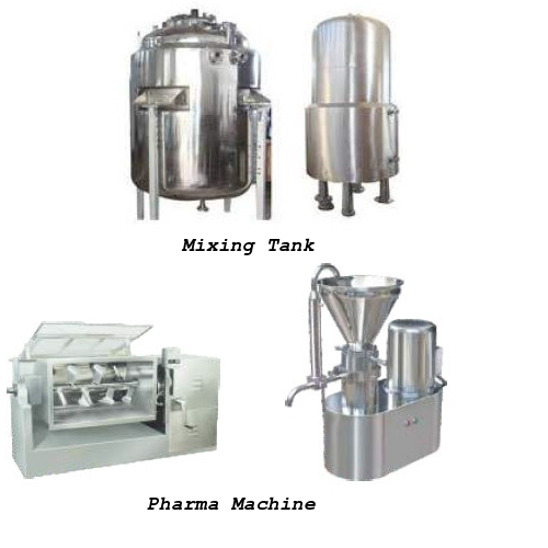 Mixing Tank & Pharma Machine