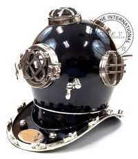 Diving Helmet Mark V Black Diver's Helmet