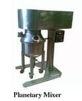 Ointment Plant & Planetary Mixer