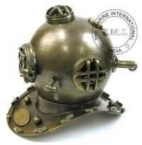 Antique Diving Helmet Mark V- Nautical Diver's Helmet