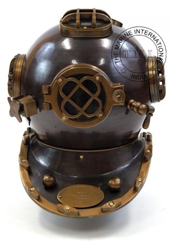 Antique Diver's Helmet