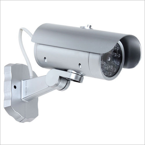 Fake Bullet Dummy CCTV With Flashing