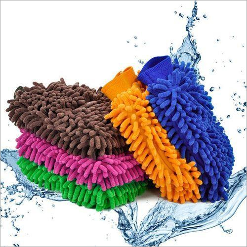 Microfiber Premium Wash Gloves Multipurpose House Car Glass