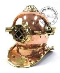 Copper & Brass Diving Helmet Mark IV