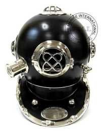 Diving Helmet Mark IV In Black & Chrome Finish