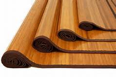 Bamboo Rug Back Material: Rubber Tpr
