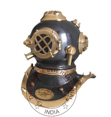 Nautical Antique U.S Navy Diving Helmet Mark V
