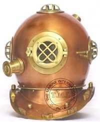Diving Helmet Mark IV U.S Navy Diver Helmet