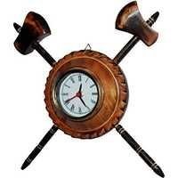 Desi Karigar  Antique Axe Analog Wall Clock
