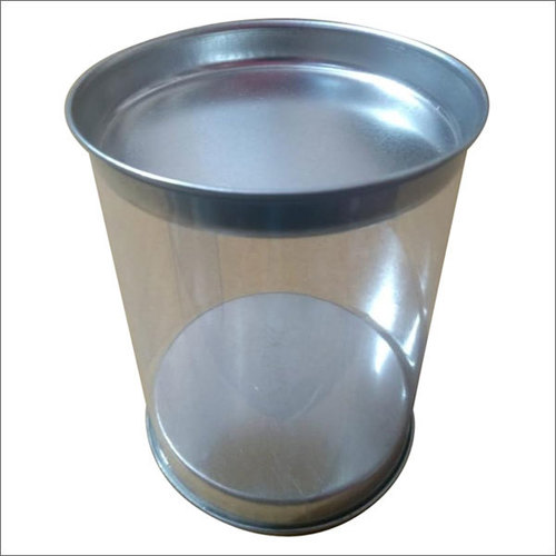 Round Plastic Gift Packaging Tubes