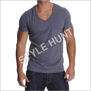 Men's V Neck T Shirt
