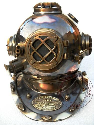 Antique Vintage Diving Helmet Mark V