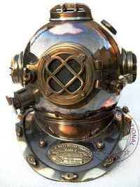 Antique Vintage Diving Helmet Mark V