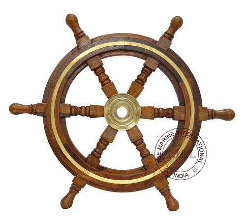 Decorative Ship Steering Wheel